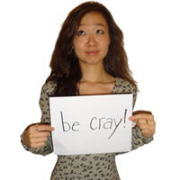   be cray!  