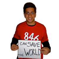    can save the world  